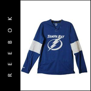 Reebok NHL Tampa Bay Lightning Hockey Shirt Jersey